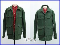 Vintage Filson Wool Coat Rustic Clothing Mens Jacket Small Medium Lumberjack