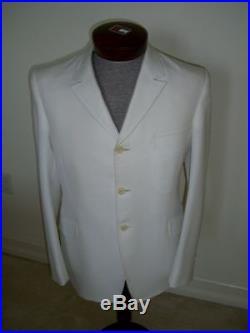 Vintage John Lennon White Suit Extremely Rare D. A. MILLINGS & SON