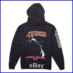Vintage Judge Stormin Through 1991 Tour Hoodie Cro-Mags Bold Madball NYHC Shirt