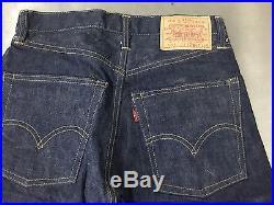 Vintage LEVIS 505 Single Stitch Jeans BIG E No Redline Hemed W27 L29 505-0217
