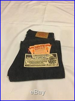 Vintage Levi's 501 Big E Redline Deadstock Jeans 28/31 Actual