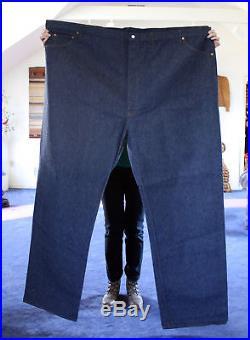 Vintage Levi's 501 XX Redline Selvedge W76L45 madeUSA Store display banner jeans