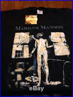 Vintage Marilyn Manson T-shirt with tags