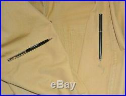 Vintage Men's Filson Tin Cloth Jacket Size Medium Made in USA Moleskin Lining