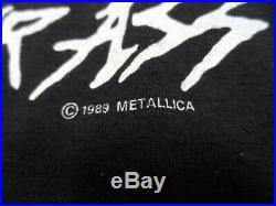 Vintage Metallica Metal Up Your Ass T-Shirt Men's Size Large 42-48 1987-89 Black