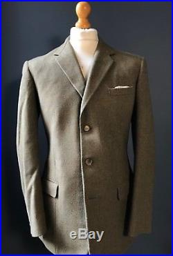Vintage Moss Bros 1960's keepers tweed three button suit size 40