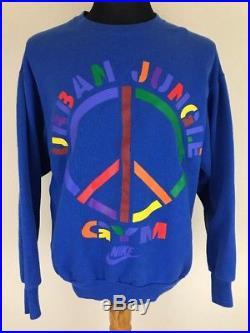 Vintage Nike Sweatshirt Spike Lee Urban Jungle Gym 1992 Jordan III IV XI SIZE M