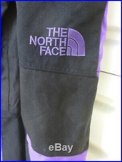 Vintage North Face Mens (Small) Ski Bibs Steep Tech Scot Schmidt Black Purple