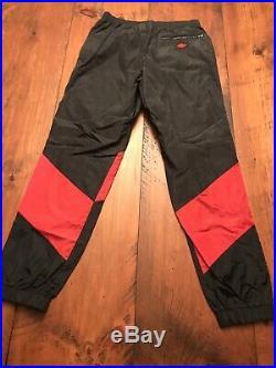 Vintage OG 80s NIKE Blue Tag 1985 AIR JORDAN 1 WINGS Warm Up Track Pants Men's M