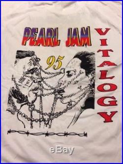 Vintage Pearl Jam Shirt Vitalogy 1995 (XL)