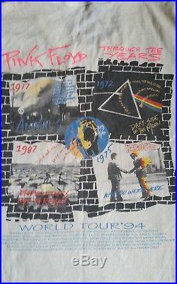 Vintage Pink Floyd shirt. 90s concert tshirt. Original tour tshirt. Led zeppelin