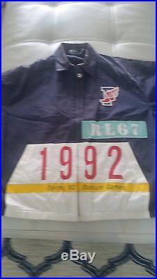 Vintage Polo Ralph Lauren 92 Plate Jacket size M