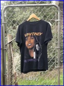 Vintage Rap tee 1990s Whitney houston