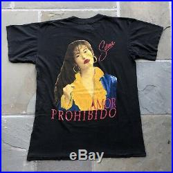 Vintage Selena 1990s Original rap shirt hip hop tee xl rare soft Great graphic