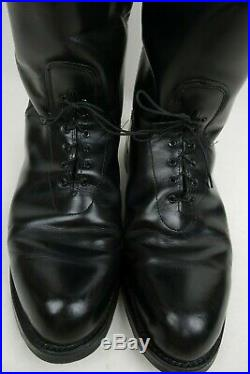 Vintage Service Riding Apparel Boots Men Size 13 E Wide Made in the USA