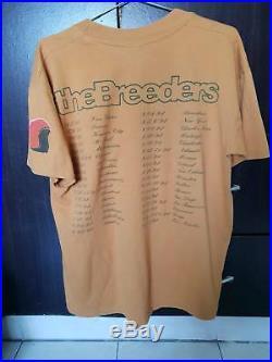 Vintage The Breeders Shirt, canonball, The breeders tour T shirt kurt cobain