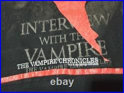 Vintage Tom Cruise 1994 Interview With The Vampire Movie Promo T Shirt Size L