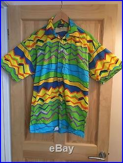 Vintage VERSACE Shirt. (Biggie, Medusa, 90s, Miami, Summer, Beach, Festival)