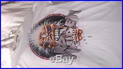 Vintage large iron maiden 1988 tour t shirt seventh son of a seventh son tour