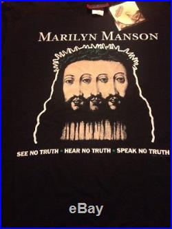 Vintage marilyn manson shirt With Tags
