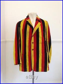 Vtg 1923 I Zingari Cricket Club Blazer College School University Striped Jacket