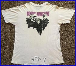 Vtg 1986 Bones Brigade T-Shirt L 80s Powell Peralta Skateboard Skateboarding