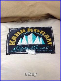 Vtg 60's Eddie Bauer KARA KORAM Blizzard Proof Down Hooded Puffer Parka Jacket