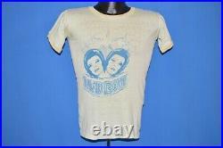 Vtg 70s DAVID BOWIE ZIGGY STARDUST RINGER ORIGINAL GREEN t-shirt EXTRA SMALL XS