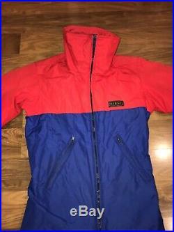 Vtg 70s EVENT One piece Apres SKI SUIT Snow Bib Snowsuit GORE TEX Mens XS SMALL