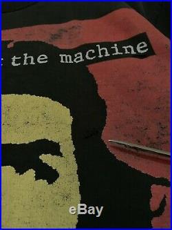 Vtg 80s Rage Against The Machine Rap Funk Alternative Metal Rap Rock T-shirt