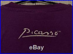 Vtg 90s Picasso Art T-shirt