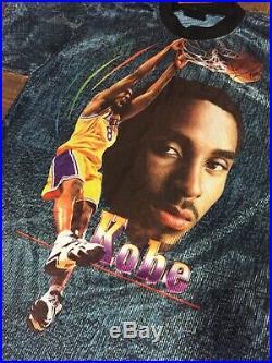 Vtg Kobe Bryant T Shirt Lakers 8 Jersey 90s Rare Champion Starter Rap Hip Hop 24