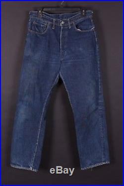 Vtg Levis 501 Buttonfly XX Double X Big E Hidden Rivets Jeans Size 32×30