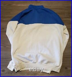 Vtg Mercedes Benz Beverly Hills California Colorblock Sweatshirt Streetwear XL