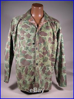 WWII U. S. Marine Corps P1944 Camouflage Coat