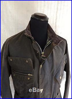Wax Jacket Vtg Barbour Waxed Jacket & Pants Nato Vtg Barbour International Suit