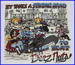 XL Lot of 6 NOS vtg 90s 1995 DEEZ NUTS t shirt rap