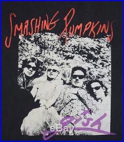 XL vtg 90s 1991 SMASHING PUMPKINS Gish t shirt 36.118