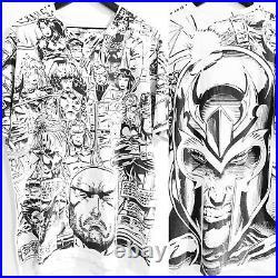 X-Men vs. Magneto 1993 Marvel Mega All Over Print 90s Vintage X-Large T-Shirt